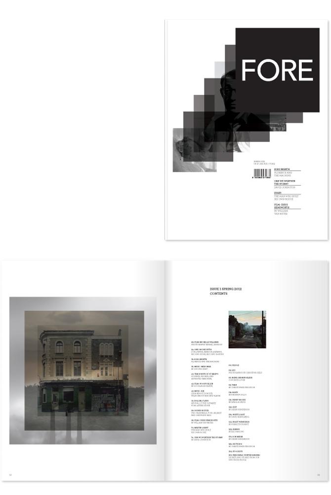 Fore Magazine Johanna Pearson Graphic Design