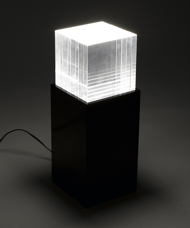blok modern desk lamp robert guglielmo design portfolio. Black Bedroom Furniture Sets. Home Design Ideas